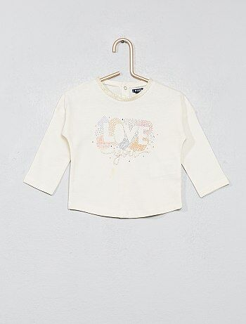 T-shirt avec imprimé - Kiabi