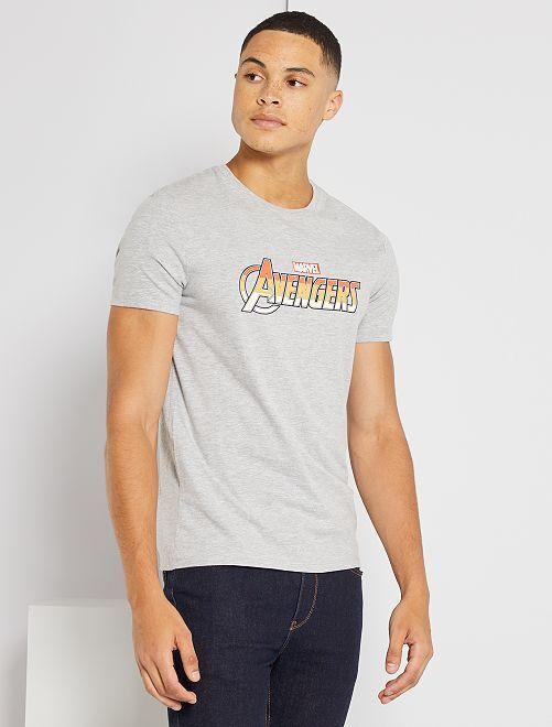 T-shirt 'Avengers' de 'Marvel'                             gris