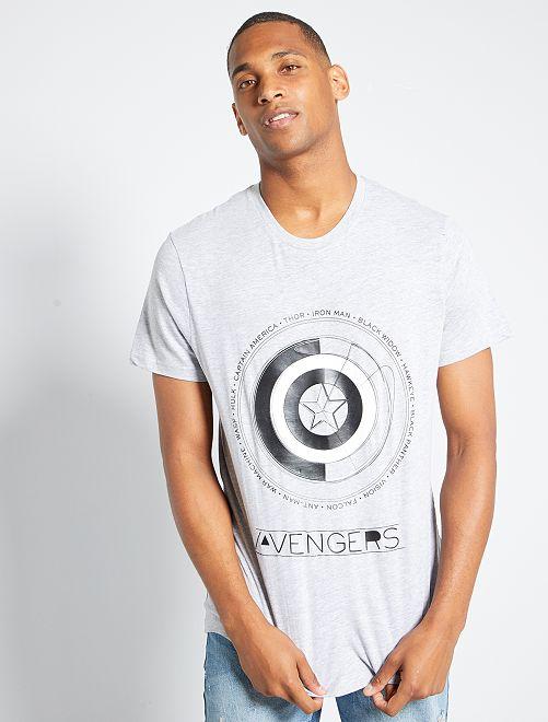 T-shirt 'Avengers'                                         gris clair