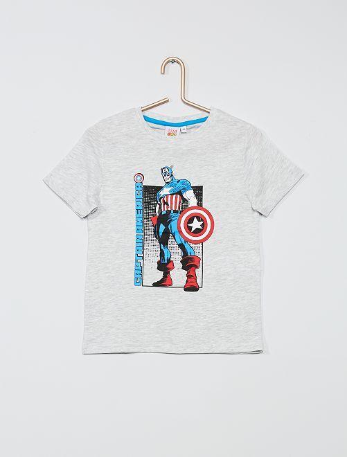 T-shirt 'Avengers'                                             gris/captain america