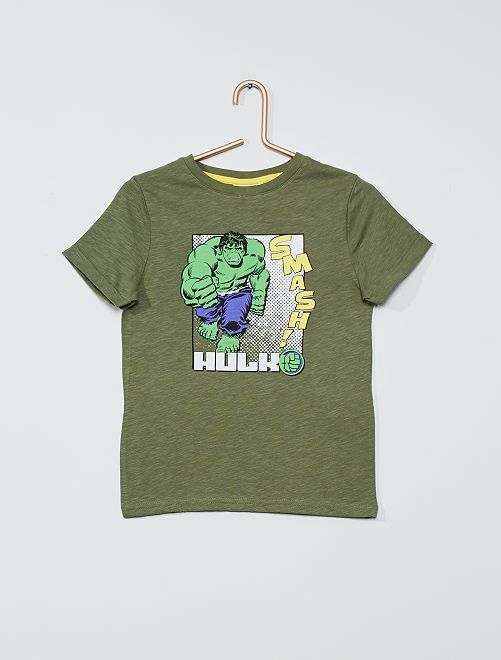 T-shirt 'Avengers'                                                     vert/hulk