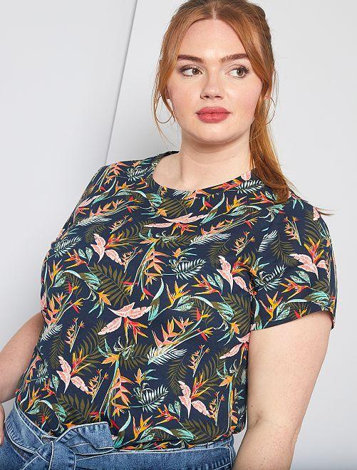 T-shirt basique éco-conception                                                                                                                                                                             palmiers