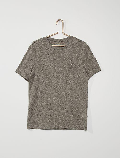 T-shirt basique                                                                 GRIS