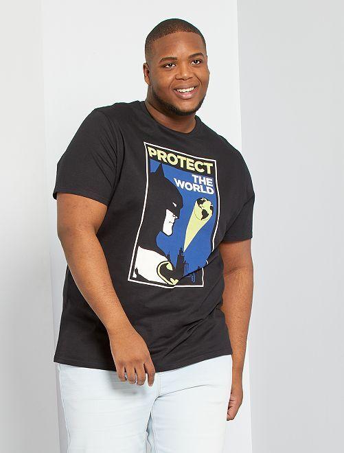 T-shirt 'Batman' éco-conçu                             noir