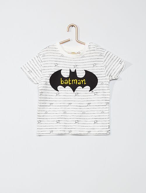 T-shirt 'Batman'                             écru