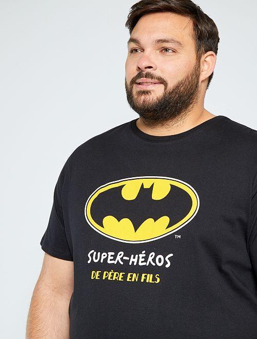 T-shirt 'Batman'                             noir