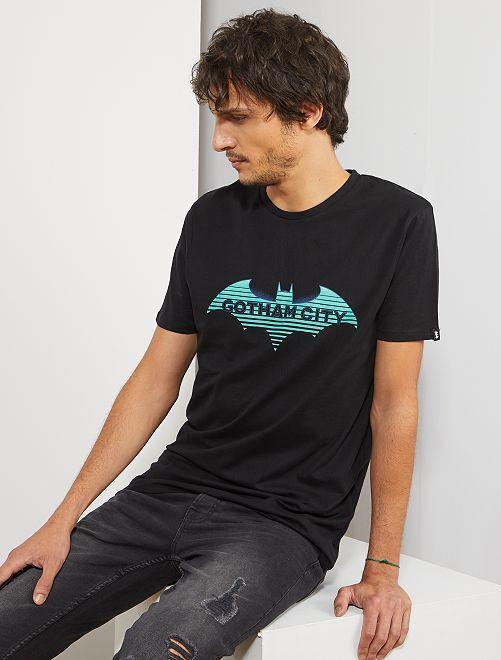 T-shirt 'Batman'                             noir Homme