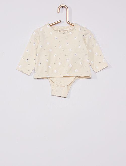 T-shirt body éco-conçu                                         gris