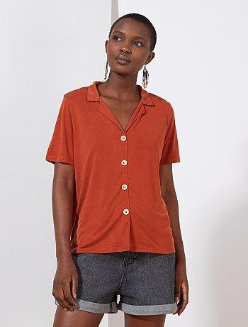 61412322822a29 Chemise femme | tunique, blouse, chemisier - mode Femme | Kiabi
