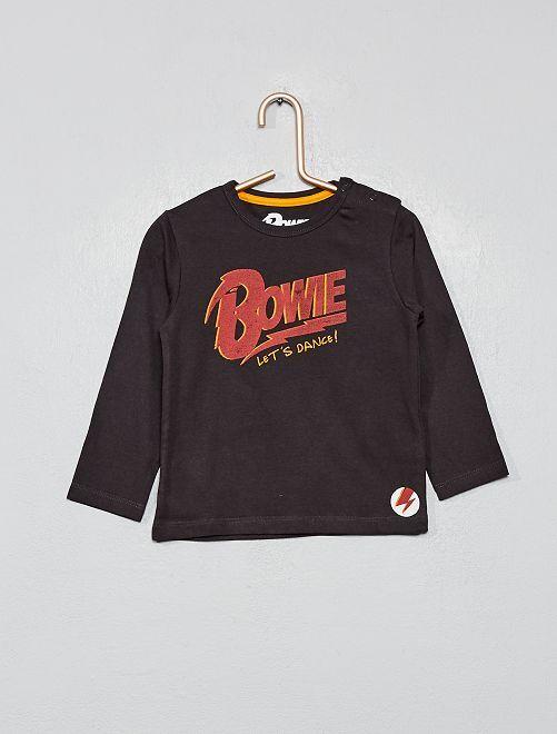 T-shirt 'Bowie'                             gris foncé