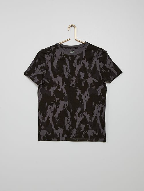 T-shirt camouflage                                                                             gris