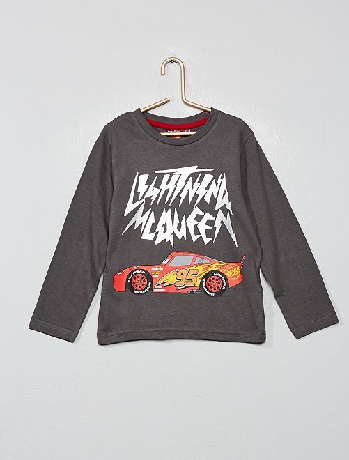 T-shirt 'Cars'                                                     anthracite