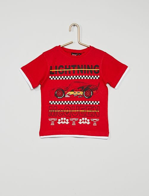T-shirt 'Cars'                                         rouge