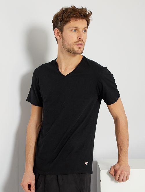 T-shirt 'Champion'                                         noir