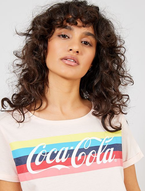 T-shirt 'Coca-Cola'                             rose