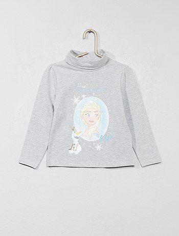 T-shirt col roulé - Kiabi