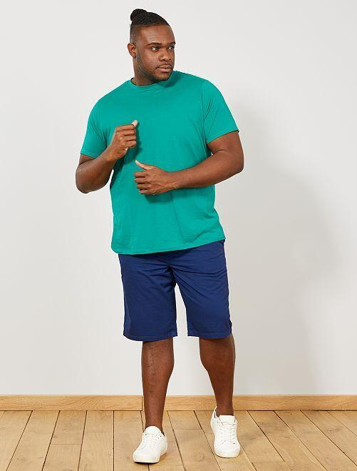 T-shirt comfort en jersey                                                                                                                                                                                                                                                     vert vif Grande taille homme
