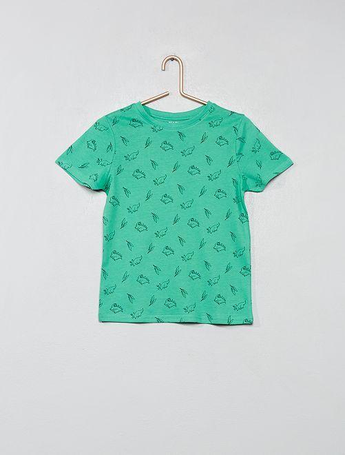 T-shirt coton bio 'éco-conception'                                                                                                     vert