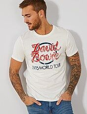 T-shirt 'David Bowie'