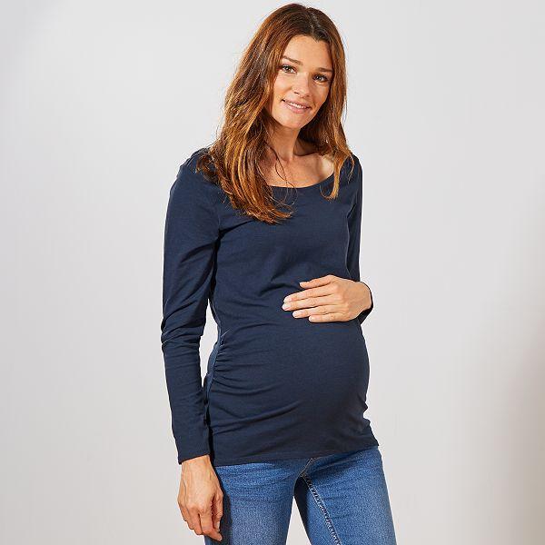 magasin en ligne gamme complète d'articles lisse T-shirt de grossesse 'éco-conception'
