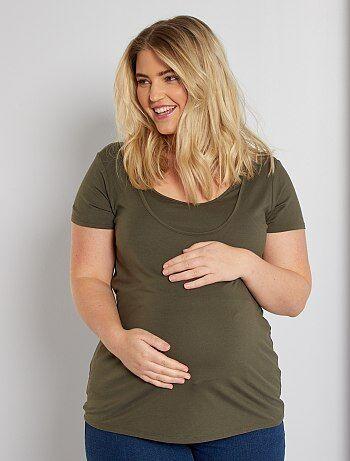 T-shirt de maternité et d'allaitement