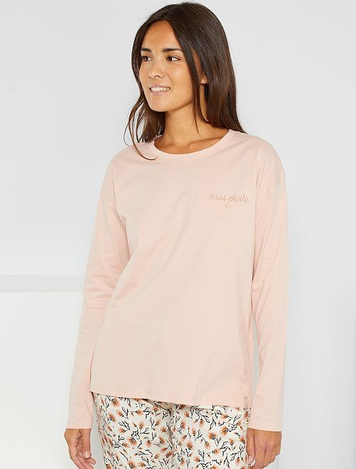 T-shirt de nuit                                         rose