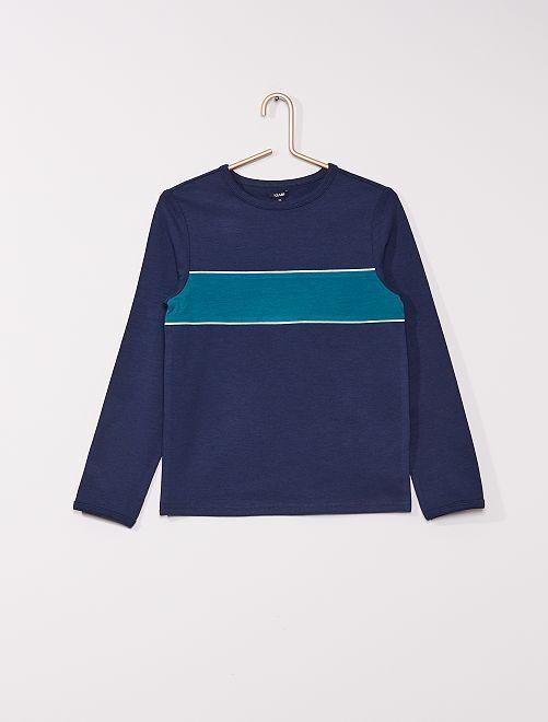 T-shirt de sport                                         bleu