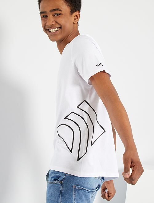 T-shirt de sport éco-conçu                                                     blanc