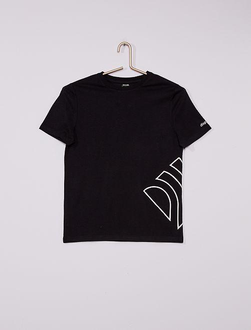 T-shirt de sport éco-conçu                                                     noir