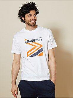 Sport - T-shirt de sport en coton 'Umbro' - Kiabi