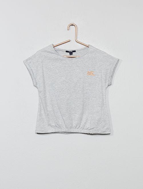 T-shirt de sport                                         gris