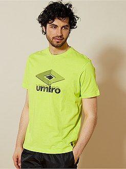T-shirt de sport imprimé 'Umbro' - Kiabi