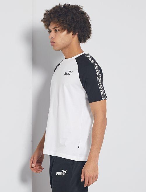 T-shirt de sport 'Puma'                             blanc