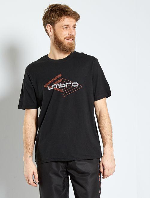 T-shirt de sport 'Umbro'                                                                 noir