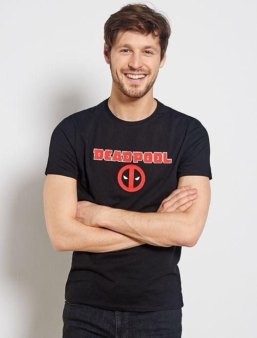 T-shirt 'Deadpool'                                         noir