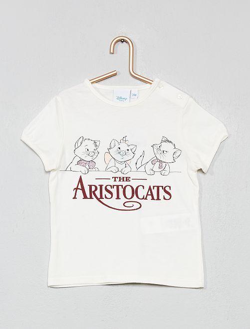 T-shirt 'Disney Baby'                                                         écru aristochats Bébé fille
