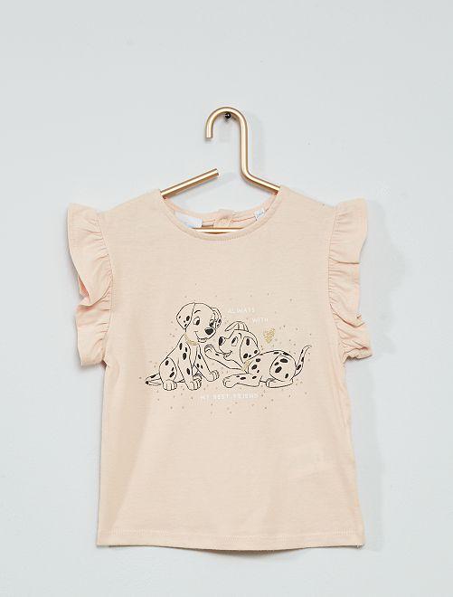T-shirt 'Disney Baby' imprimé dalmatiens                                         rose