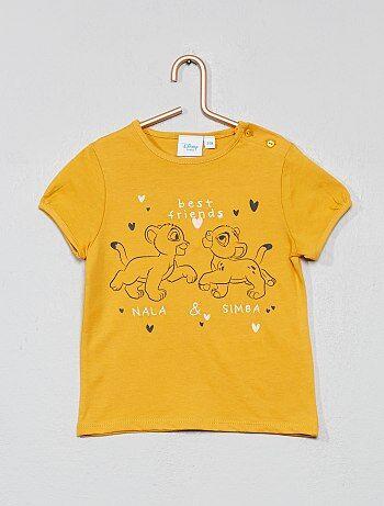 ef16537a03142 Fille 0-36 mois - T-shirt  Disney Baby  - Kiabi