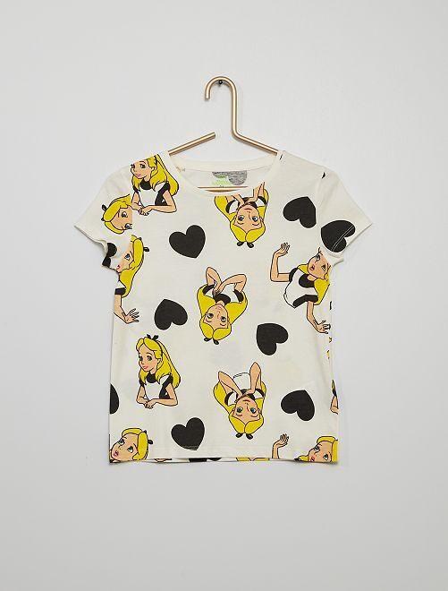 T-shirt 'Disney'                                         blanc
