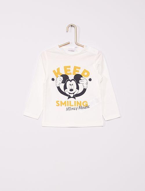 T-shirt 'Disney' éco-conçu                                                                             blanc Mickey