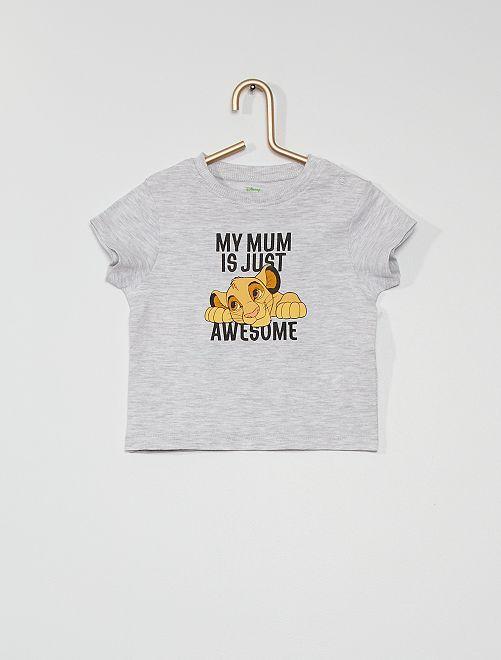 T-shirt 'Disney' éco-conçu                                                     gris
