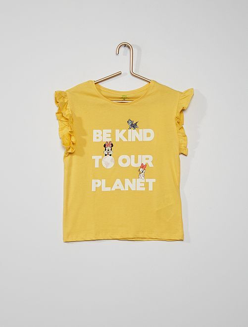 T-shirt 'Disney'                                         jaune