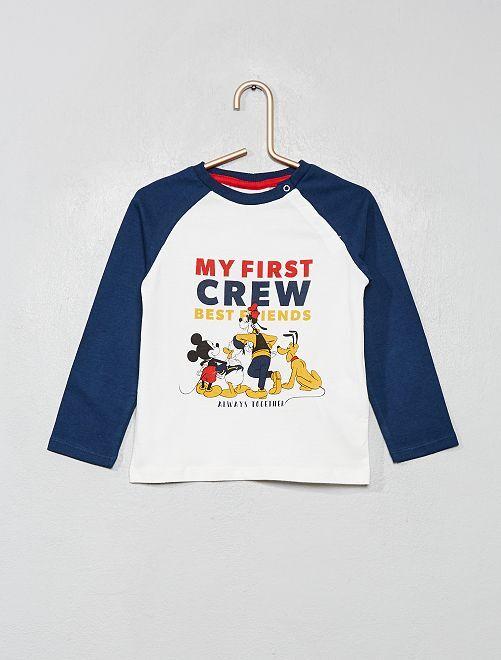 T-shirt 'Disney' 'La bande à Mickey'                                         blanc/bleu