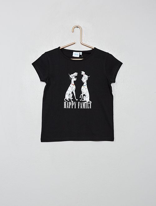 T-shirt 'Disney'                             noir