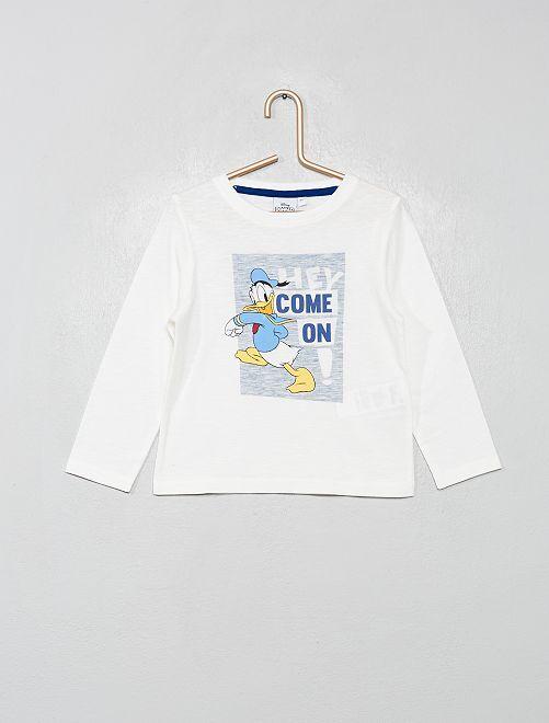 T-shirt 'Donald'                                                                 écru donald