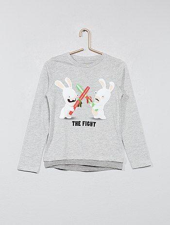 T-shirt double base 'Les lapins crétins'