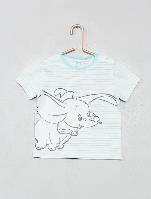 T-shirt 'Dumbo'                             blanc/bleu