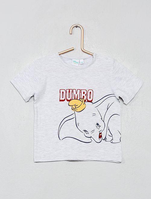 T-shirt 'Dumbo'                             gris chiné