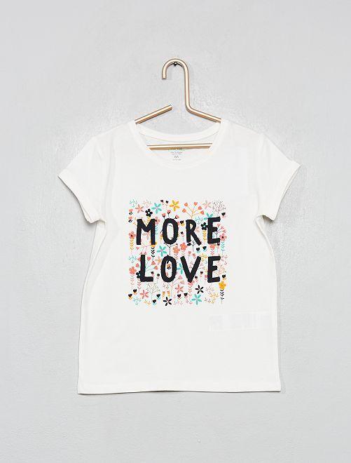 T-shirt 'éco-conception'                                                                                         blanc