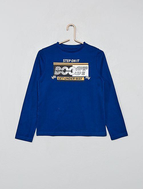 T-shirt 'éco-conception'                                 bleu